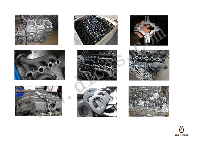 SHELL MOLD CASTING(PRECOATED SAND CASTING)